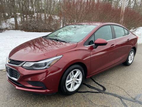 2016 Chevrolet Cruze for sale at Padula Auto Sales in Braintree MA