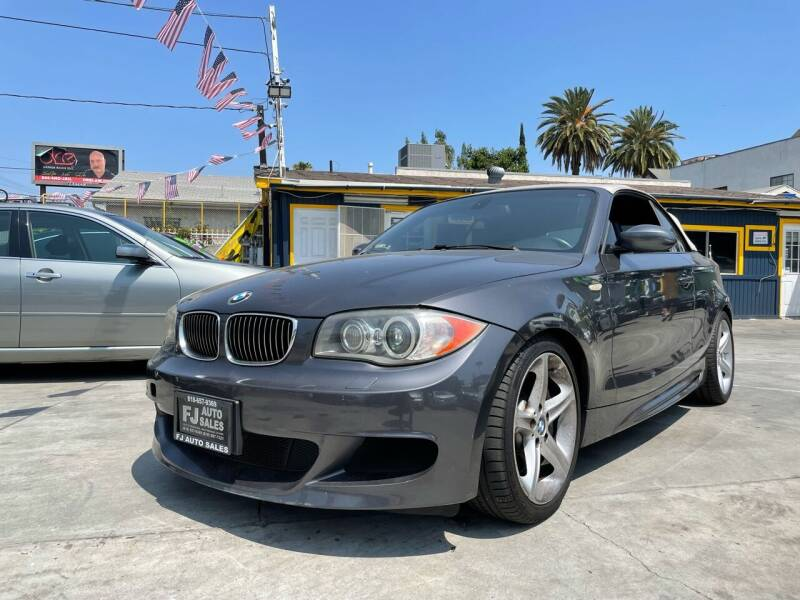 2008 BMW 1 Series for sale at FJ Auto Sales North Hollywood in North Hollywood CA