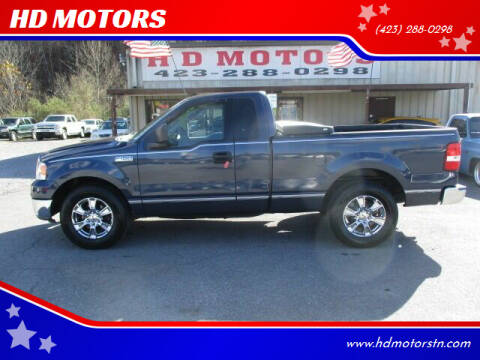 2004 Ford F-150 for sale at HD MOTORS in Kingsport TN