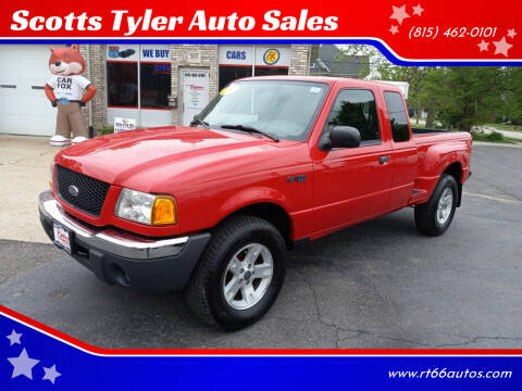 2003 Ford Ranger for sale at Scotts Tyler Auto Sales in Wilmington IL