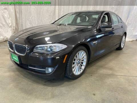 2012 BMW 5 Series for sale at Green Light Auto Sales LLC in Bethany CT