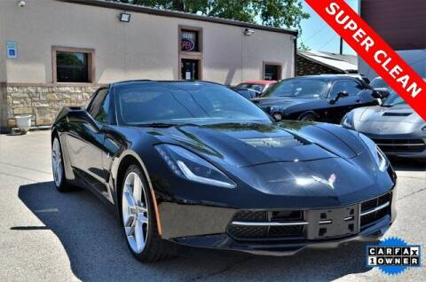 2019 Chevrolet Corvette for sale at LAKESIDE MOTORS, INC. in Sachse TX
