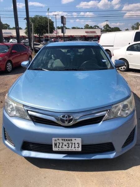 2014 Toyota Camry for sale at SBC Auto Sales in Houston TX