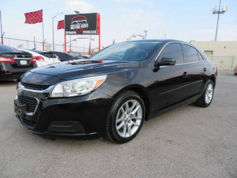 2014 Chevrolet Malibu for sale at Moving Rides in El Paso TX