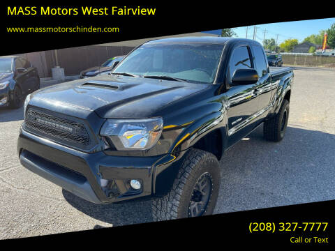 2015 Toyota Tacoma for sale at M.A.S.S. Motors - West Fairview in Boise ID