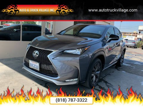 2017 Lexus NX 200t for sale at Auto & Truck Village Inc. in Van Nuys CA