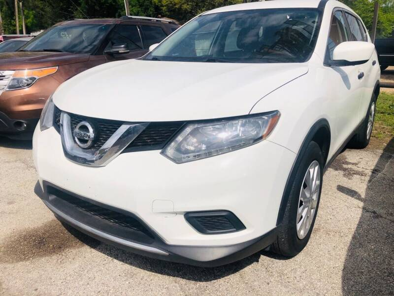 2016 Nissan Rogue for sale at Lion Auto Finance in Houston TX
