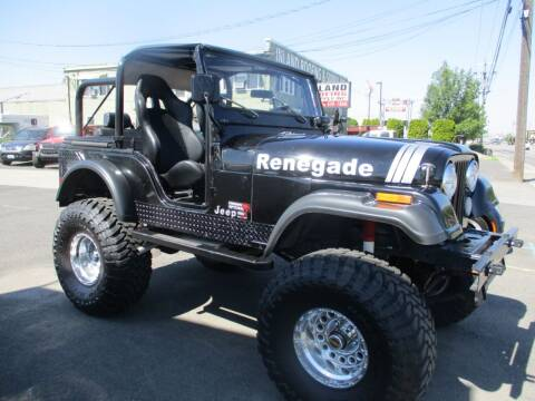 1975 Jeep CJ-5 for sale at Independent Auto Sales in Spokane Valley WA