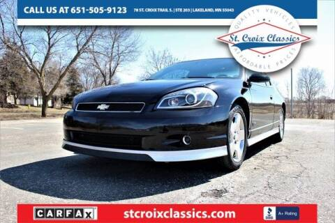 2006 Chevrolet Monte Carlo for sale at St. Croix Classics in Lakeland MN