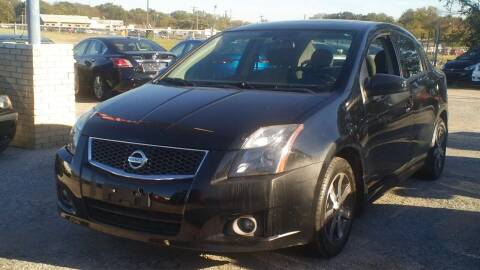 2012 Nissan Sentra for sale at Global Vehicles,Inc in Irving TX