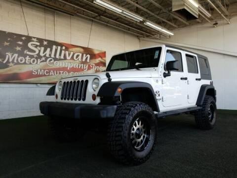 2009 Jeep Wrangler Unlimited for sale at SULLIVAN MOTOR COMPANY INC. in Mesa AZ