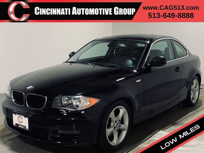 2010 BMW 1 Series for sale at Cincinnati Automotive Group in Lebanon OH