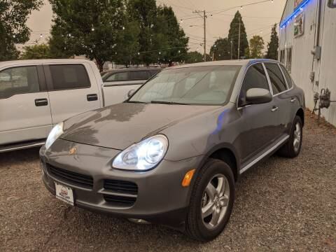 2004 Porsche Cayenne for sale at M AND S CAR SALES LLC in Independence OR