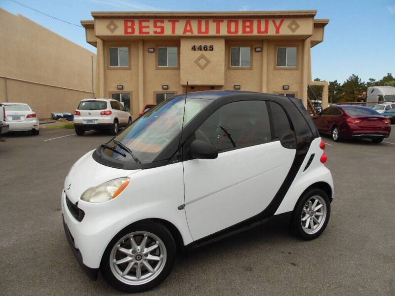 2008 Smart fortwo for sale at Best Auto Buy in Las Vegas NV