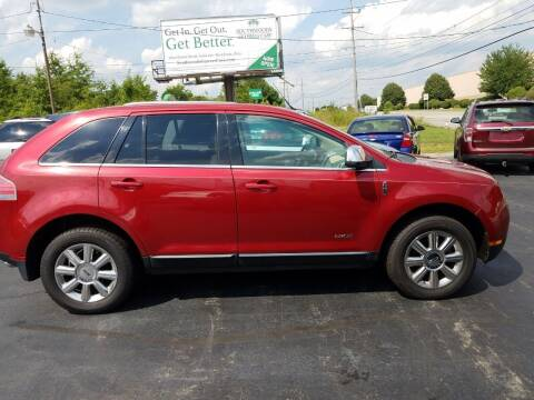 2008 Lincoln MKX for sale at Country Auto Sales in Boardman OH