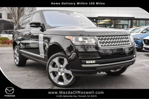 2017 Land Rover Range Rover for sale at Mazda Of Roswell in Roswell GA
