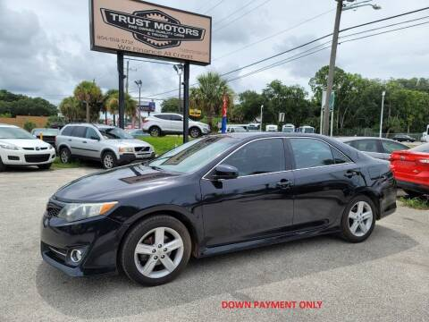 2012 Toyota Camry for sale at Trust Motors in Jacksonville FL