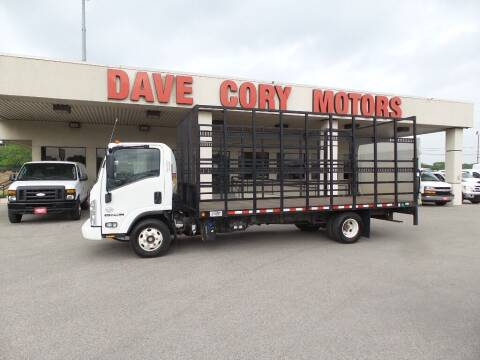 2016 Isuzu NPR HD for sale at DAVE CORY MOTORS in Houston TX