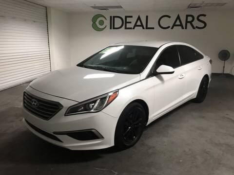 2017 Hyundai Sonata for sale at Ideal Cars Atlas in Mesa AZ