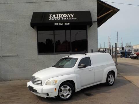 2009 Chevrolet HHR for sale at FAIRWAY AUTO SALES, INC. in Melrose Park IL