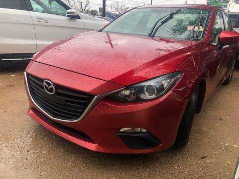 2014 Mazda MAZDA3 for sale at S & J Auto Group in San Antonio TX