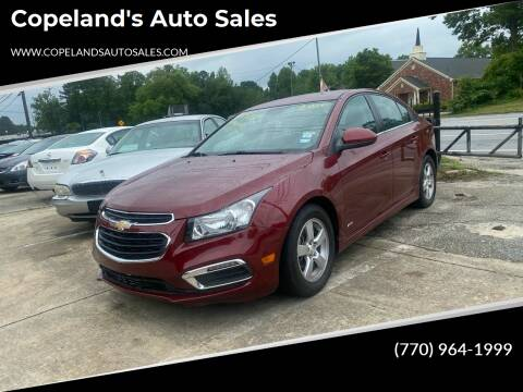 2016 Chevrolet Cruze Limited for sale at Copeland's Auto Sales in Union City GA
