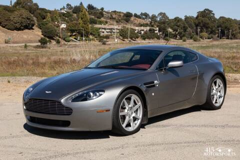 2007 Aston Martin V8 Vantage for sale at 415 Motorsports in San Rafael CA