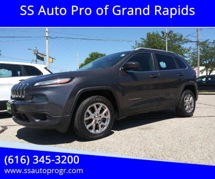 2014 Jeep Cherokee for sale at SS Auto Pro of Grand Rapids in Kentwood MI