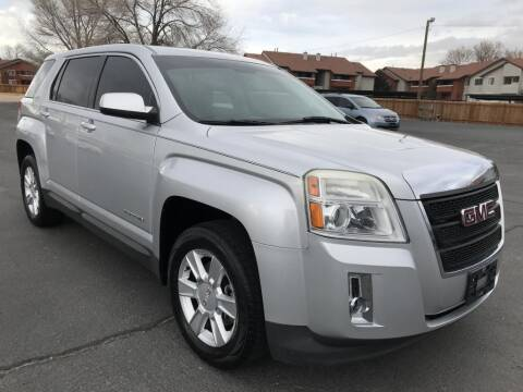2013 GMC Terrain for sale at INVICTUS MOTOR COMPANY in West Valley City UT