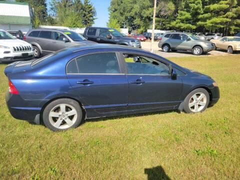 2006 Honda Civic for sale at SCENIC SALES LLC in Arena WI