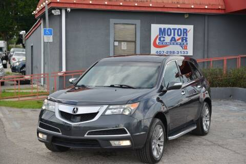 2013 Acura MDX for sale at Motor Car Concepts II - Kirkman Location in Orlando FL