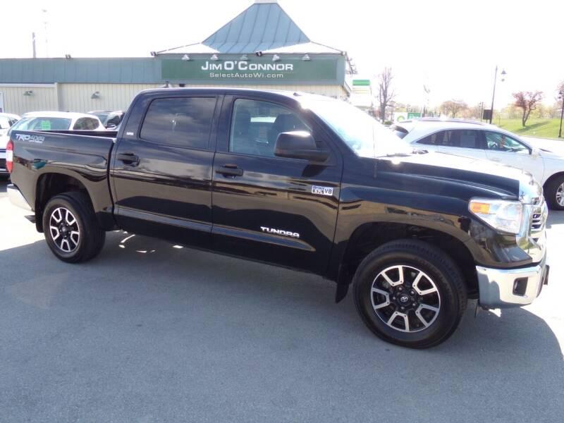 2017 Toyota Tundra for sale at Jim O'Connor Select Auto in Oconomowoc WI