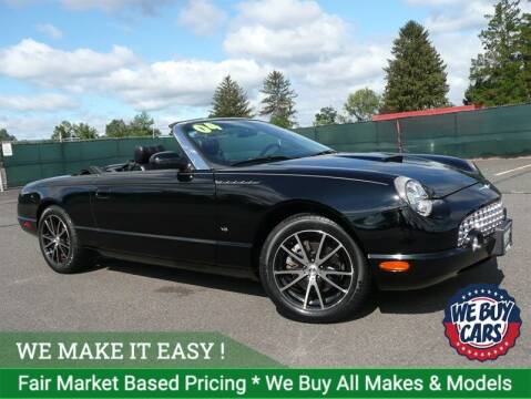 2004 Ford Thunderbird for sale at Shamrock Motors in East Windsor CT