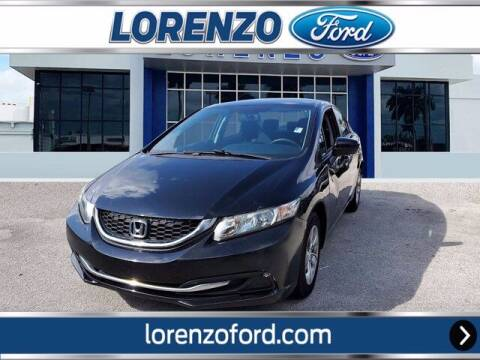 2015 Honda Civic for sale at Lorenzo Ford in Homestead FL