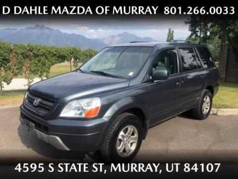 2005 Honda Pilot for sale at D DAHLE MAZDA OF MURRAY in Salt Lake City UT
