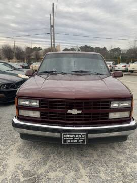 1988 Chevrolet C/K 1500 Series for sale at J D USED AUTO SALES INC in Doraville GA