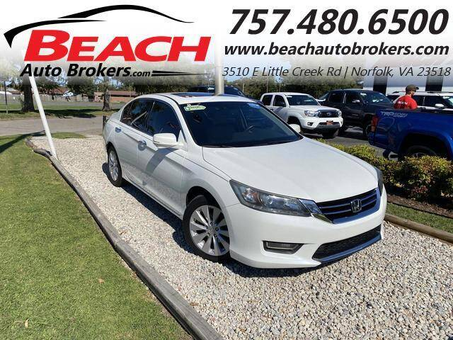 2013 Honda Accord for sale at Beach Auto Brokers in Norfolk VA
