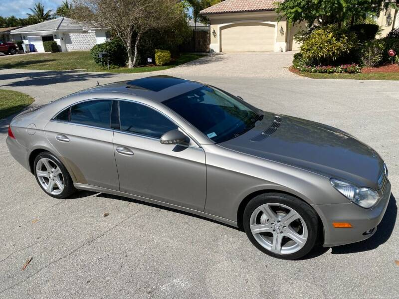 2006 Mercedes-Benz CLS for sale at Exceed Auto Brokers in Pompano Beach FL