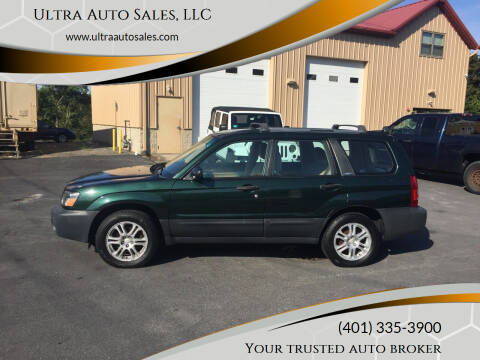 2003 Subaru Forester for sale at Ultra Auto Sales, LLC in Cumberland RI