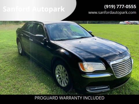 2012 Chrysler 300 for sale at Sanford Autopark in Sanford NC