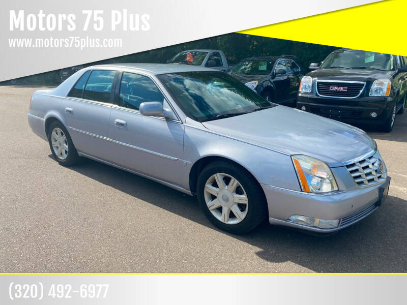 2006 Cadillac DTS for sale at Motors 75 Plus in Saint Cloud MN