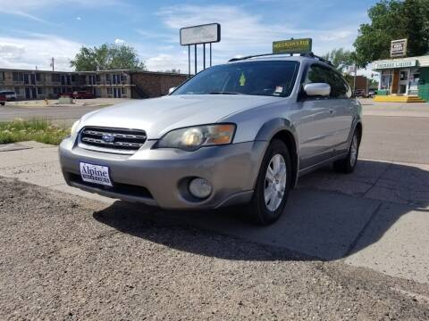 2005 Subaru Outback for sale at Alpine Motors LLC in Laramie WY
