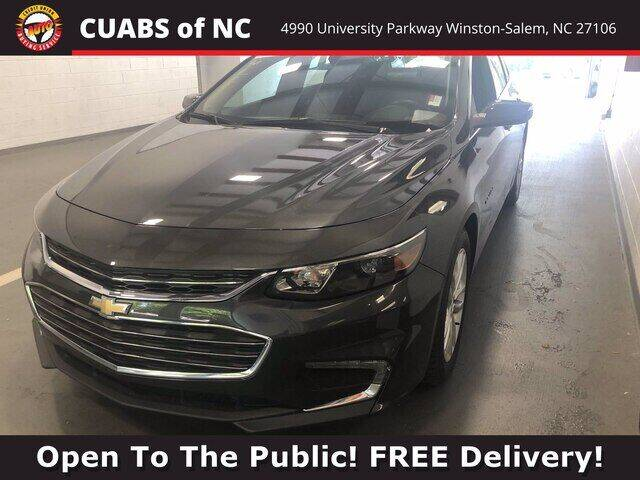 2018 Chevrolet Malibu for sale at Summit Credit Union Auto Buying Service in Winston Salem NC