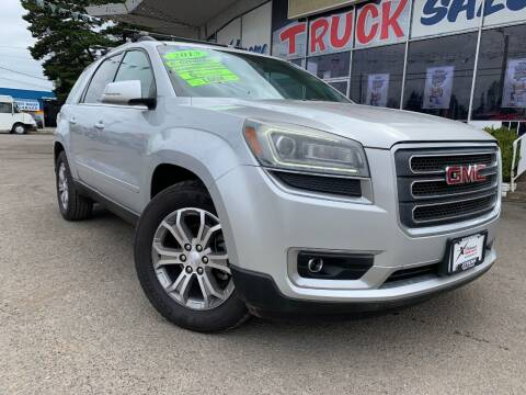 2013 GMC Acadia for sale at Xtreme Truck Sales in Woodburn OR