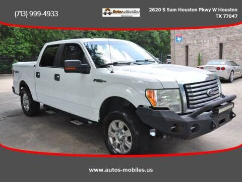 2010 Ford F-150 for sale at AUTOS-MOBILES in Houston TX