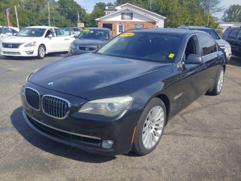 2012 BMW 7 Series for sale at L&M Auto Import in Gastonia NC
