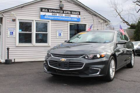 2018 Chevrolet Malibu for sale at Deals N Wheels 306 in Burlington NJ