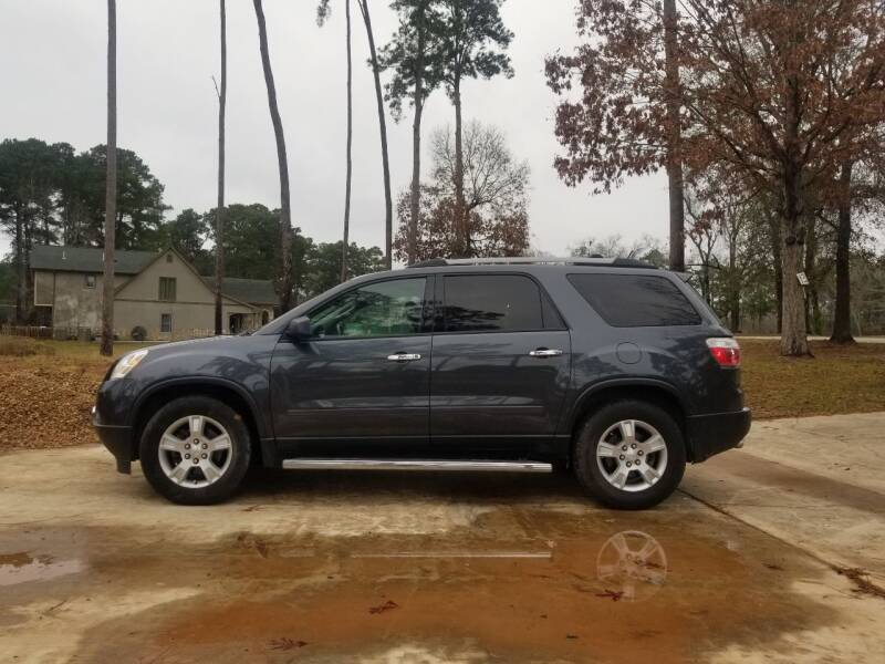 2012 GMC Acadia for sale at Benz auto sales in Willis TX