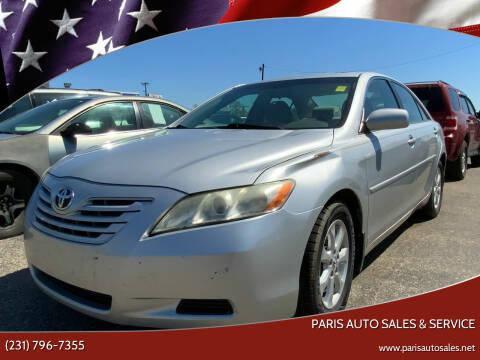 2009 Toyota Camry for sale at Paris Auto Sales & Service in Big Rapids MI