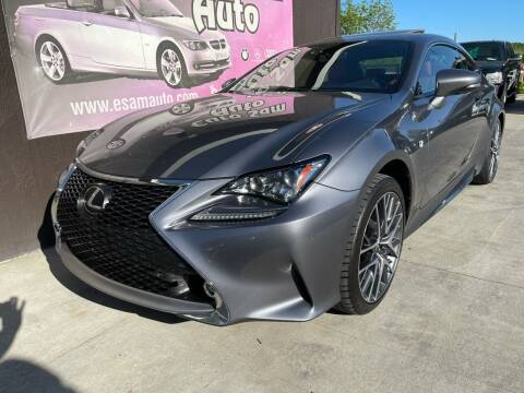 2015 Lexus RC 350 for sale at Euro Auto in Overland Park KS